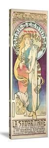 Sarah Bernhardt (1844-1923) in 'La Samaritaine' at the Theatre De La Renaissance, 1897 by Alphonse Mucha