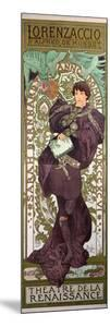 Sarah Bernhardt (1844-1923) in 'Lorenzaccio', a Play by Alfred De Musset (1810-57) at The by Alphonse Mucha