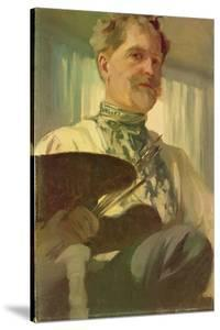 Self Portrait with a Palette, 1907 by Alphonse Mucha