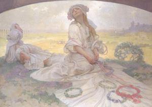 Song of Bohemia, c.1930 by Alphonse Mucha