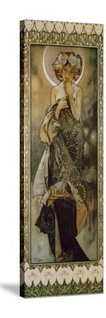 Stars: the Moon, 1902. (Version B) by Alphonse Mucha