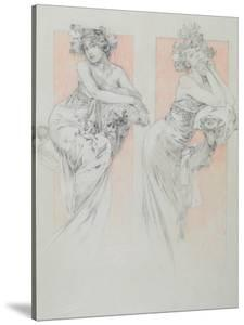 Study for Plate 12 from 'Documents Decoratifs', 1902 by Alphonse Mucha