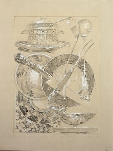 Study for Plate 59 from 'Documents Decoratifs', 1902 by Alphonse Mucha