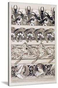 Study for Plate 60 of 'Documents Decoratifs', 1902 by Alphonse Mucha