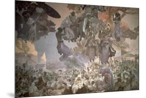 Svantovit Festival on the Island of Rugen, from the 'Slav Epic', 1912 by Alphonse Mucha