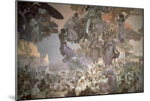 Svantovit Festival on the Island of Rugen, from the 'Slav Epic', 1912 by Alphonse Mucha