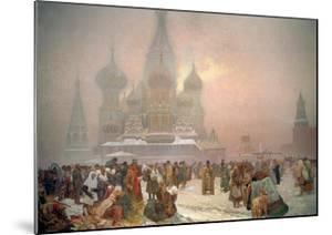 The Abolition of Serfdom, from the 'Slav Epic', 1914 by Alphonse Mucha