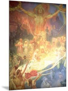 The Apotheosis of the Slavs, from the 'Slav Epic', 1926 by Alphonse Mucha