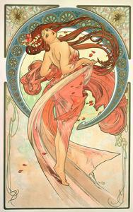 The Arts: Dance, 1898 by Alphonse Mucha