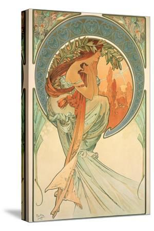 The Arts: Poetry, 1898 by Alphonse Mucha