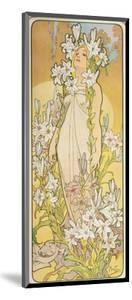The Flowers: Lily, 1898 by Alphonse Mucha
