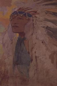 The Indian, 1904 by Alphonse Mucha