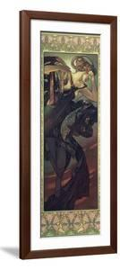 The Moon and the Stars: Evening Star, 1902 by Alphonse Mucha