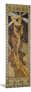 The Moon and the Stars: Morning Star, 1902 (Version B) by Alphonse Mucha