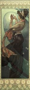 The Moon and the Stars: Pole Star, 1902 by Alphonse Mucha
