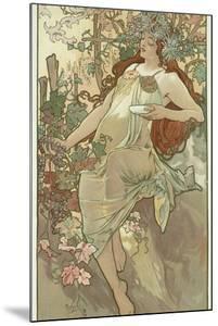 The Seasons: Autumn, 1896 by Alphonse Mucha