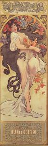 The Seasons: Autumn, 1897 by Alphonse Mucha