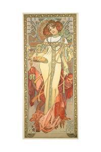 The Seasons: Autumn, 1900 by Alphonse Mucha