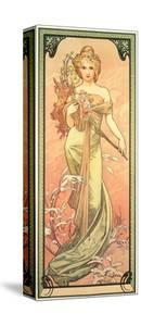 The Seasons: Spring, 1900 by Alphonse Mucha