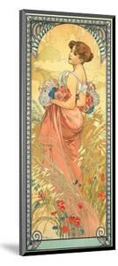 The Seasons: Summer, 1900 by Alphonse Mucha