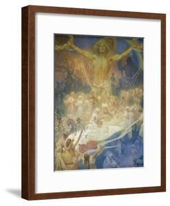 The Slav Epic: the Apotheosis of the Slavs, 1928 by Alphonse Mucha