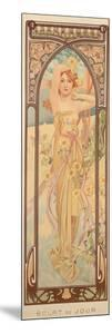 The Times of the Day: Brightness of Day, 1899 by Alphonse Mucha