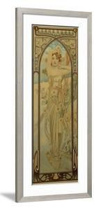 The Times of the Day: Daytime Dash by Alphonse Mucha