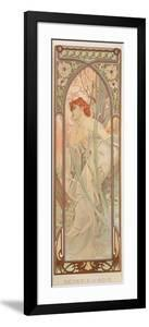 The Times of the Day: Evening Contemplation, 1899 by Alphonse Mucha