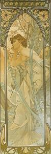 The Times of the Day: Evening Dream by Alphonse Mucha
