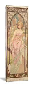 The Times of the Day: Morning Awakening, 1899 by Alphonse Mucha