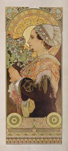 Thistle from the Sands, 1902 by Alphonse Mucha