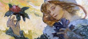 Untitled, C1880-1930 by Alphonse Mucha