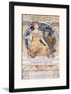 World's Fair, St. Louis, Missouri, 1904 by Alphonse Mucha