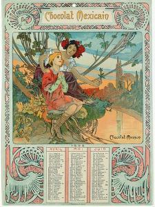 Youth, 1897 by Alphonse Mucha