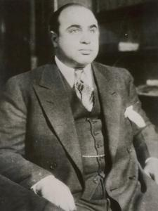 """Alphonse """"Scarface"""" Capone Chicago Gangster"""