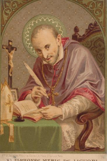 Alphonsus Maria De Liguori (1696-178), C.1910S--Giclee Print