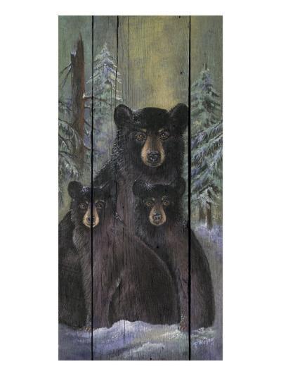 Alpine Bear Lodge-Penny Wagner-Premium Giclee Print