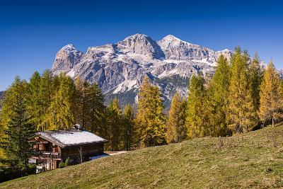 Alpine Chalet-Michael Blanchette Photography-Photographic Print