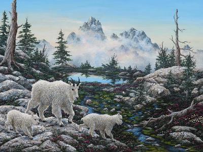 Alpine Country-Jeff Tift-Giclee Print