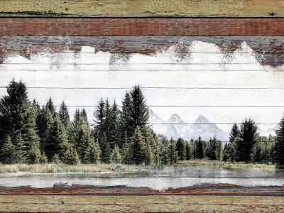 Alpine Range - Lemhi--Giclee Print