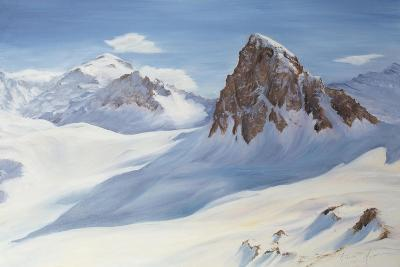 Alpine Shadows, 2000-Antonia Myatt-Giclee Print