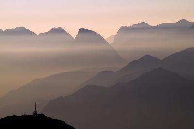 Alpine Sunset-Lorenzo Rieg-Photographic Print
