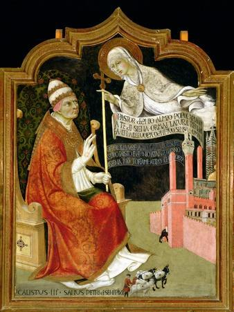 The Apparition of the Virgin to Pope Calixtus III