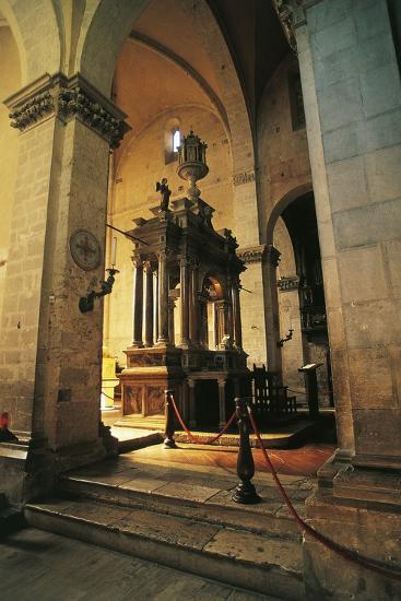 Altar in Massa Marittima Cathedral, 14th Century, Massa Marittima, Tuscany, Italy--Photographic Print