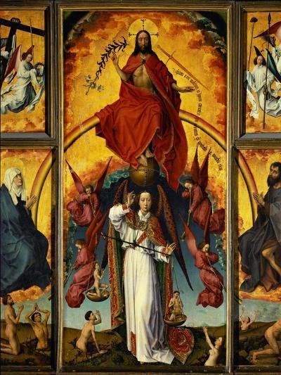 Altar of the Last Judgement-Rogier van der Weyden-Giclee Print