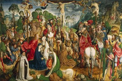 Altarpiece Showing the Passion of Christ--Giclee Print