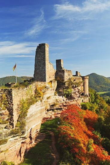 Altdahn Castle, Dahn, Palatinate Forest, Rhineland-Palatinate, Germany, Europe-Jochen Schlenker-Photographic Print