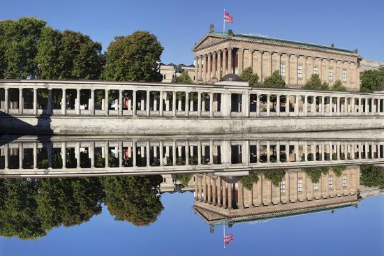 Alte Nat'lgalerie (Old Nat'l Gallery), Colonnades, UNESCO World Heritage, Berlin, Germany-Markus Lange-Photographic Print