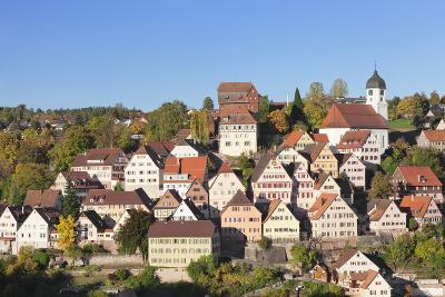 Altensteig, Black Forest, Baden Wurttemberg, Germany, Europe-Markus Lange-Photographic Print