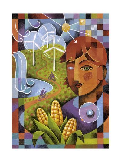 Alternatives-Jim Dryden-Giclee Print